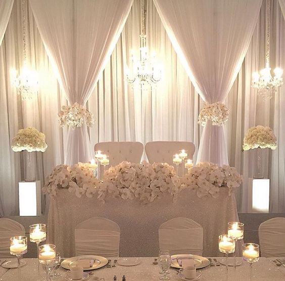 Wedding Head Table Flowers: Persian Wedding And Party